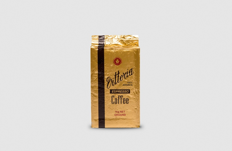 Vittoria Coffee Espresso ground coffee beans