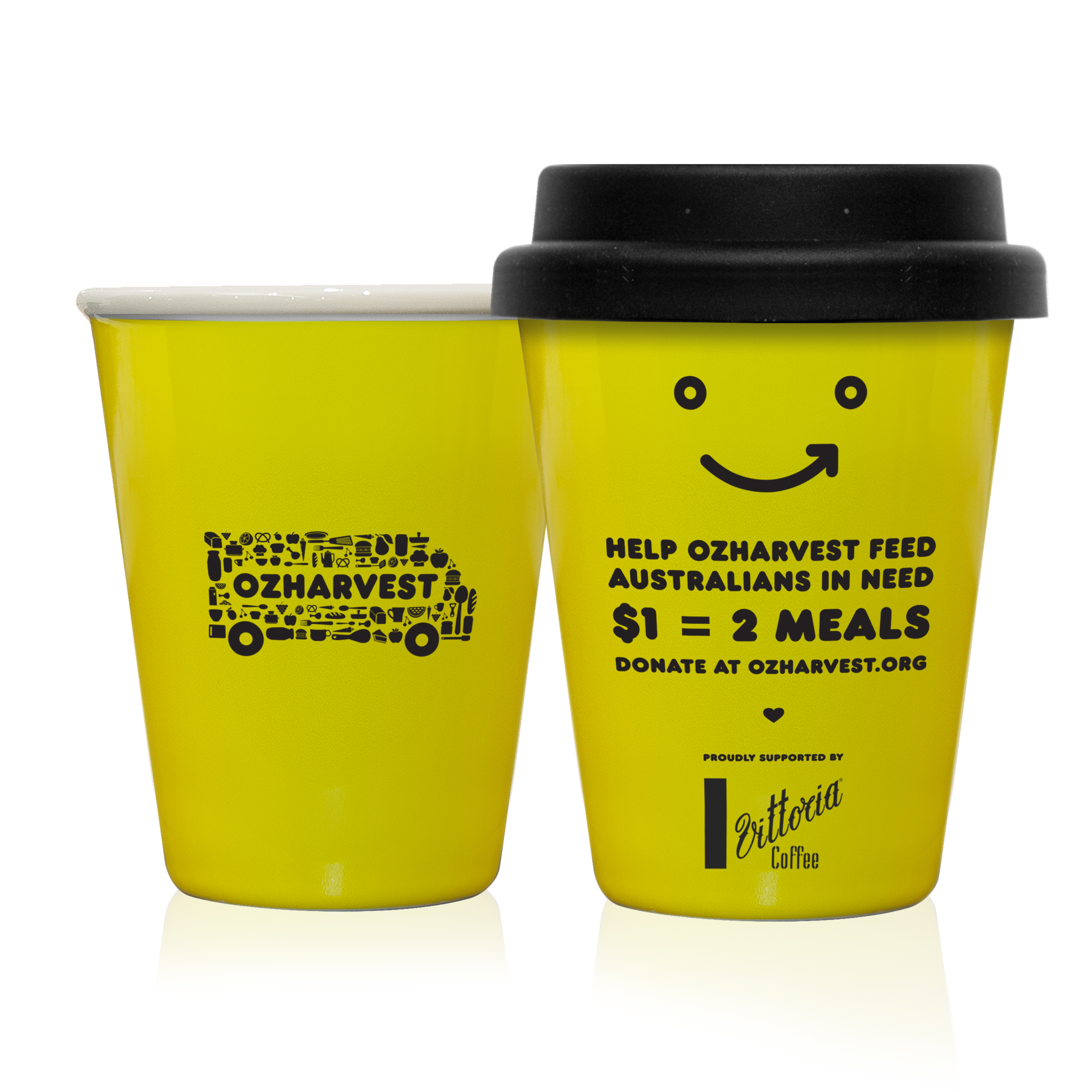 OzHarvest Reusable Latte Cup