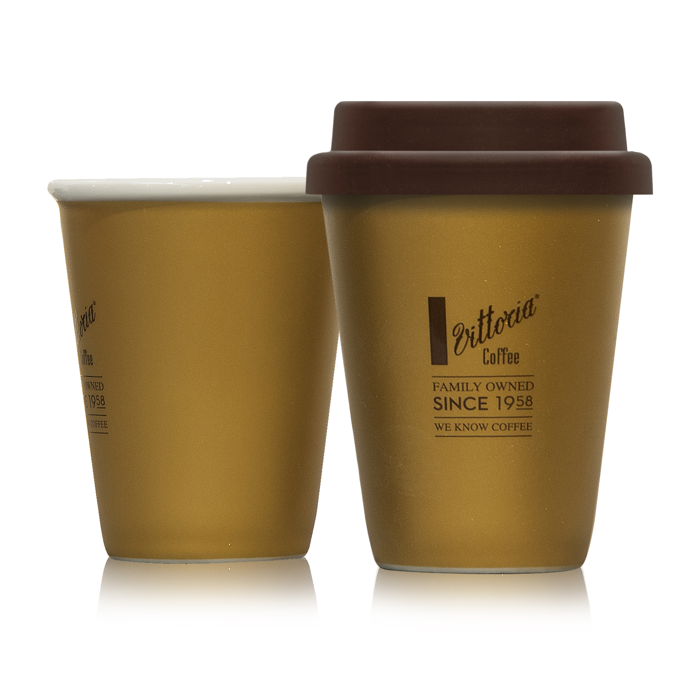 Gold Reusable Latte Cup