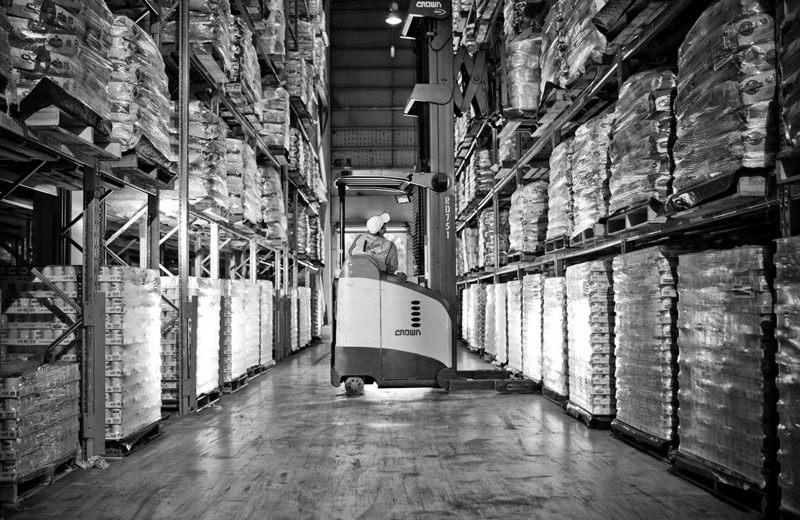 Trade Distribution Warehouses at Vittoria Coffee