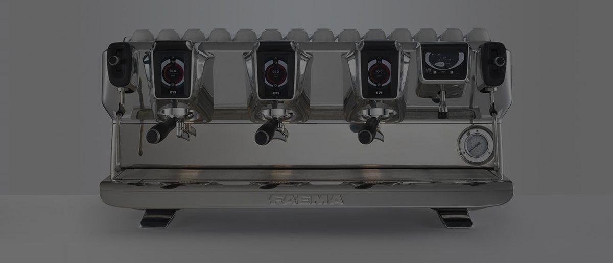 A Faema coffee machine