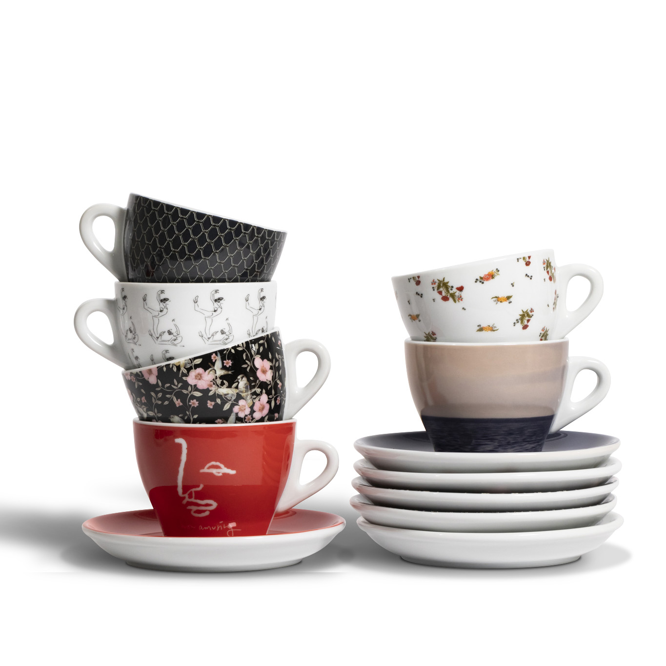 2019 Fashion Series Cappuccino Cup & Saucer Set