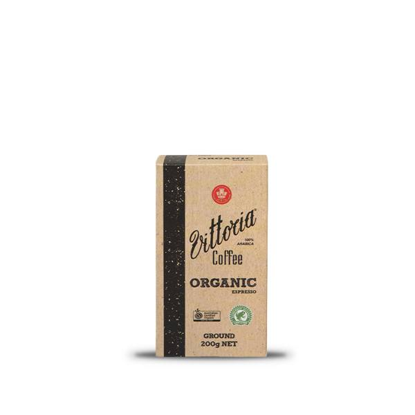 Organic Ground Coffee 200g