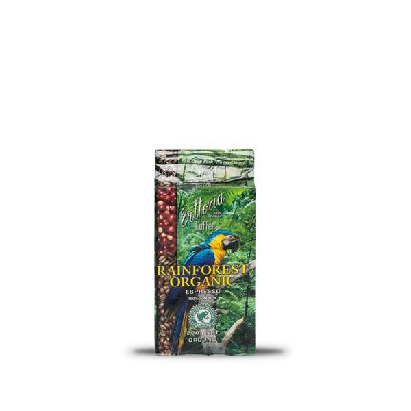 Rainforest Organic Ground Coffee 200g