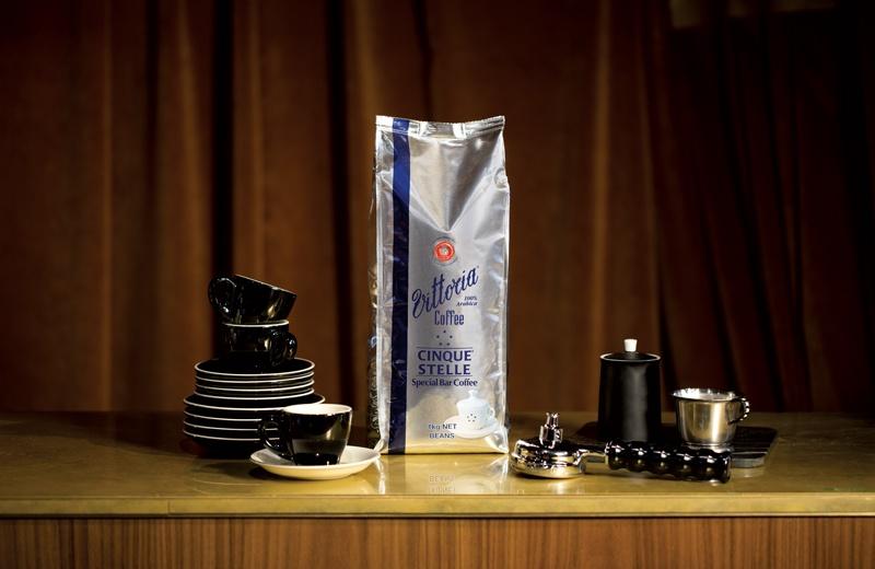 Vittoria Coffee Special Bar Blends Cinque Stelle
