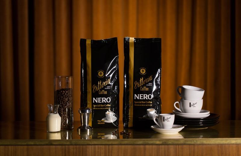 Vittoria Coffee Special Bar Blends Nero