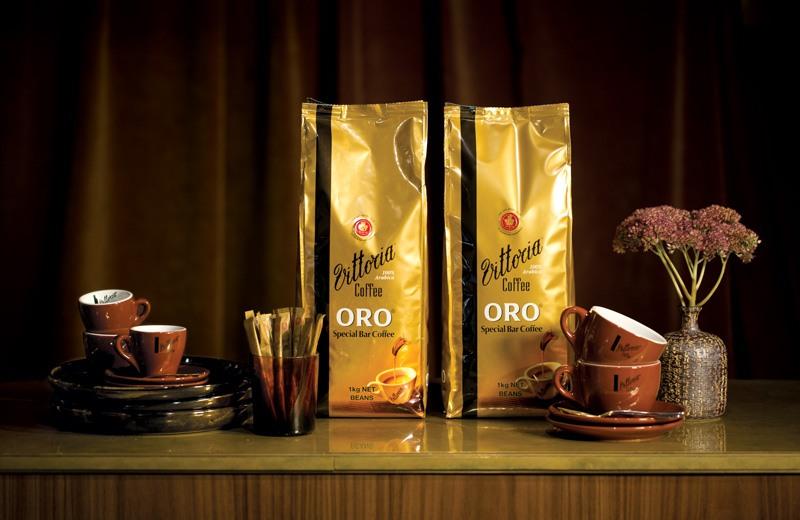 Vittoria Coffee Special Bar Blends Oro