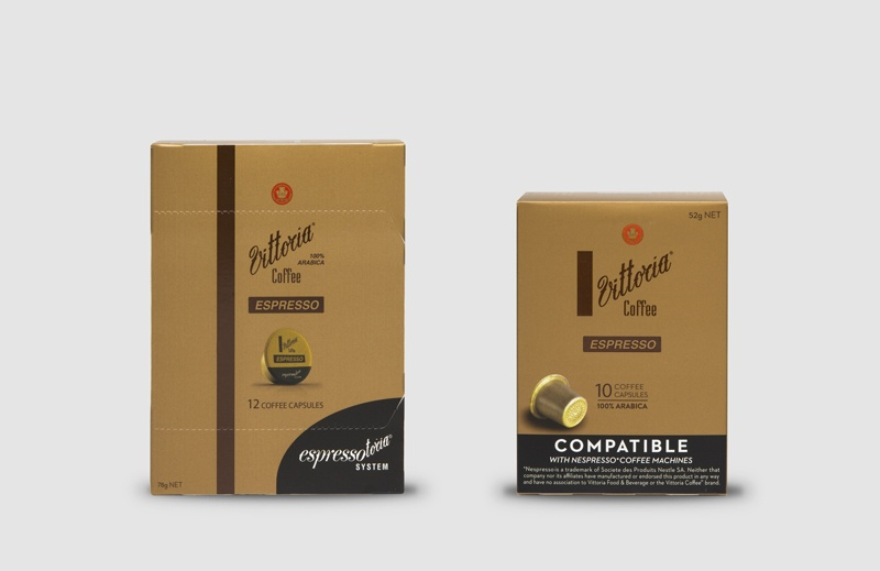Vittoria Coffee Espresso coffee capsules