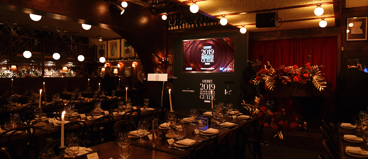 Gourmet Traveller National Restaurant Awards 2019 Presented in Partnership with Vittoria Coffee