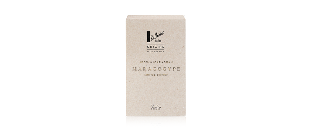 Ground Maragogype Coffee Beans