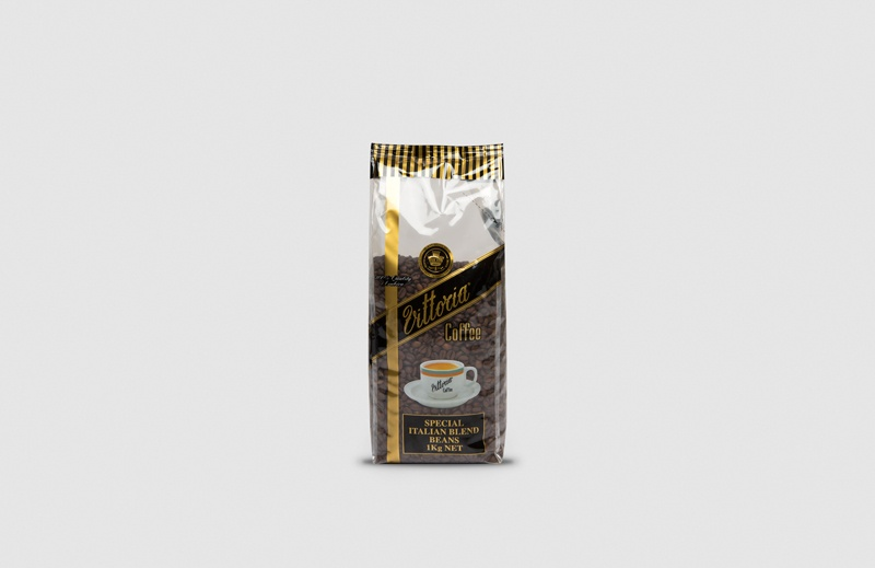 Vittoria Coffee Italian Blend coffee beans