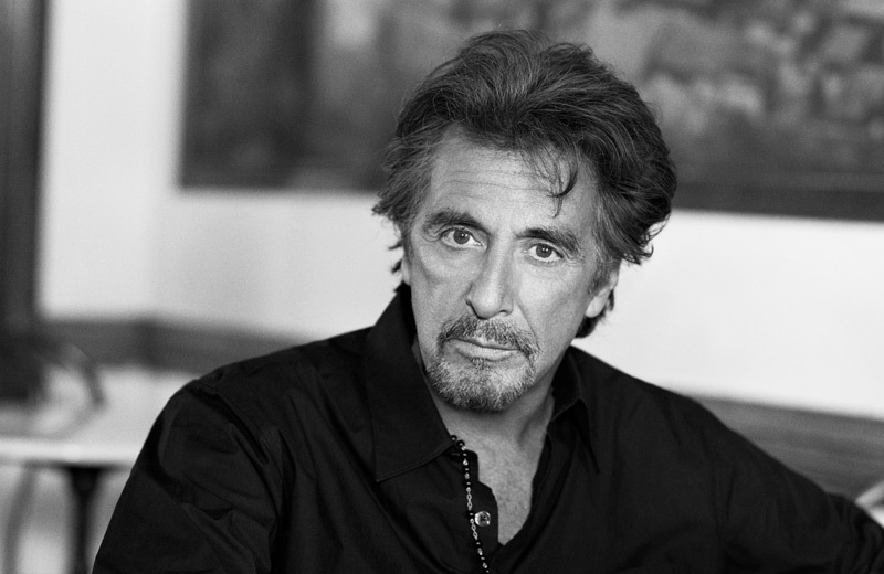 Al Pacino, the face of Vittoria Coffee