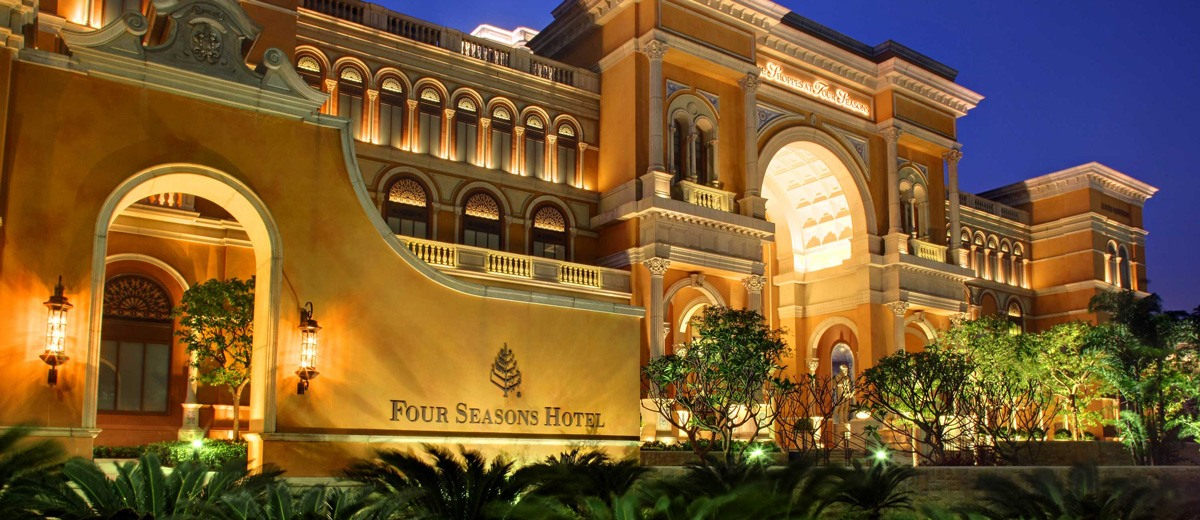 The Four Season Hotel in Macau