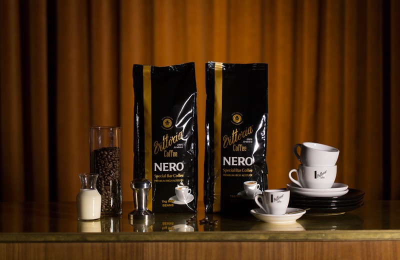 Vittoria Coffee Special Bar Blends Nero